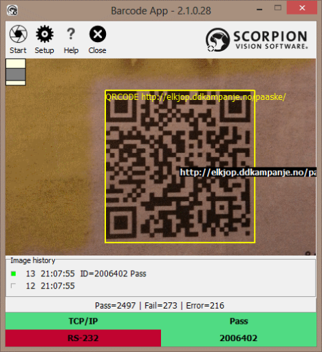 Supporting QRCodes